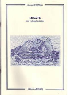 Maurice JOURNEAU (1898-1999) : Sonate pour violoncelle & piano op.16