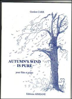 Gordon CARR : Autumn's wind is pure,