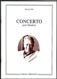 Edwin CARR : Concerto pour hautbois (2002)
