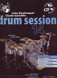 Jacky BOURBASQUET & Claude GASTALDIN : Drum Session 14