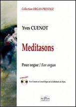 Yves CUENOT : Meditasons pour orgue
