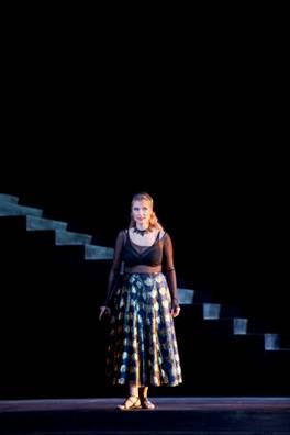 Camilla Nylund est Salomé à l'Opéra Bastille.
