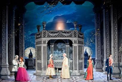 L'Amant Jaloux à l'Opéra Comique.