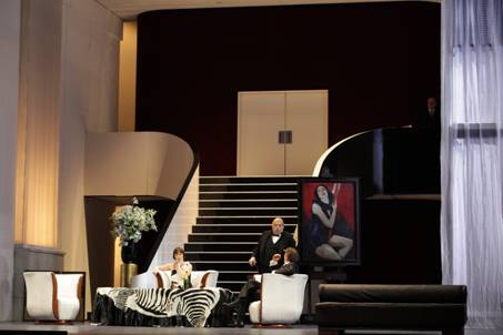 Alban BERG : Lulu.  Opéra en trois actes (IIIe acte dans la version de Friedrich Cehra).